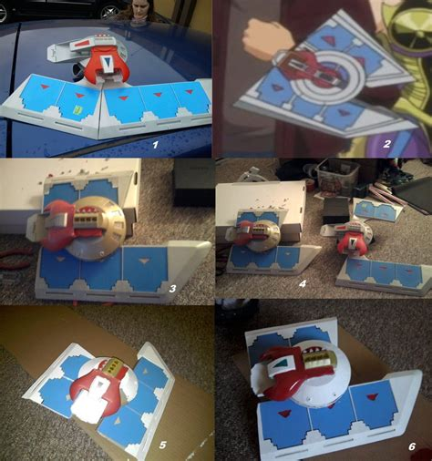Yugioh Duel Disk Papercraft - yugioh duel disk technology search engine at