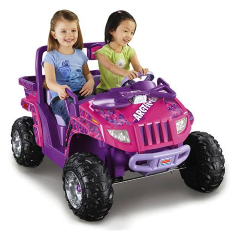 power wheels for girls power wheels 12v battery toy ride on arctic cat 174 pink