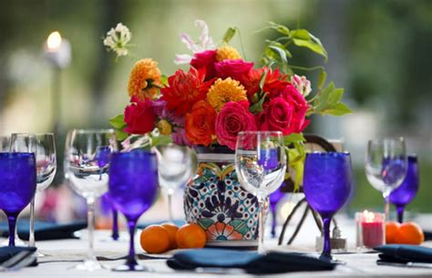 mexican table centerpieces mexican wedding decorations centerpieces ideas wedding