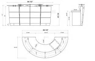 Receptionist desk dimensions pictures to pin on pinterest