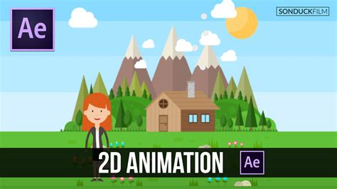 tutorial after effect animation after effects tutorial easy 2d animation sonduckfilm