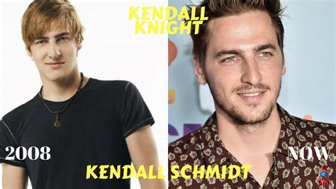 big time actors big time rush cast then and now 2018 kendall schmidt