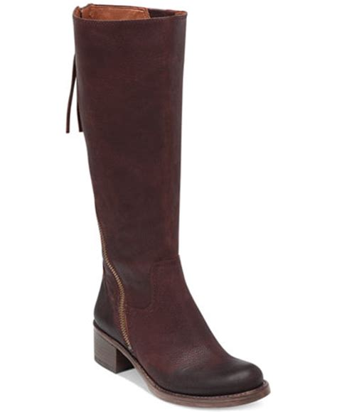 macy s lucky brand boots lucky brand hackett boots shoes macy s