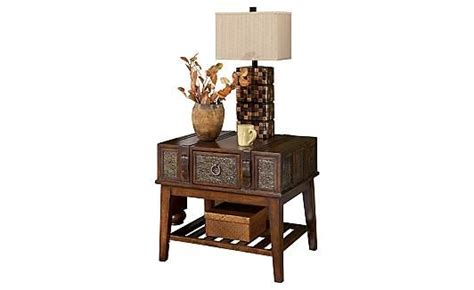 janelee storage cocktail table mckenna end table the matching coffee table is also
