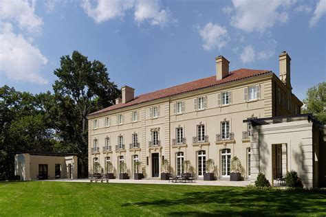 design house potomac md french neoclassical mansion on a bluff over the potomac
