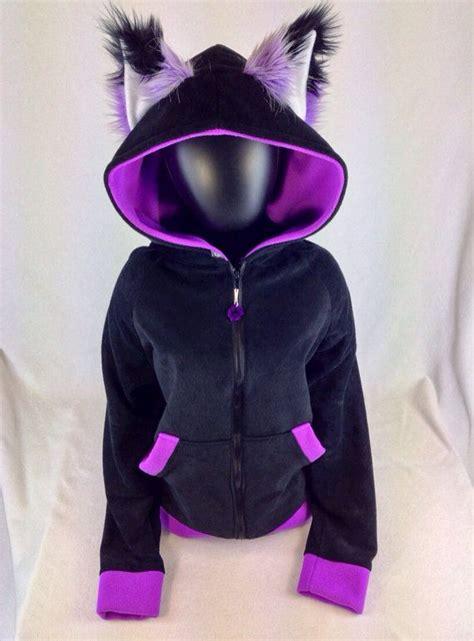 Hoodiejaket Sweater Fox pawstar special fox hoodie kei jacket pink by pawstar 85 00