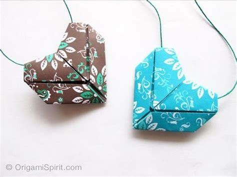 tutorial origami corazon tutorial origami heart coraz 243 n youtube