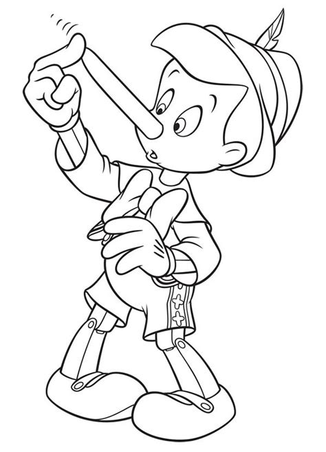 coloring book touch bad touch pinocchio touch his nose coloring pages bulk color