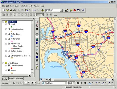 arcgis layout view missing lab 05 getting started with arcgis