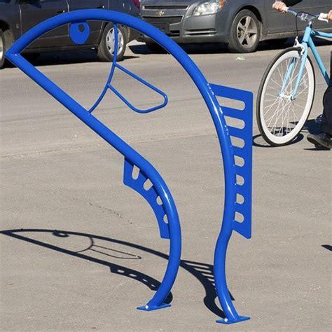 Artistic Bike Racks by Bike Parking Bike Rack Flying Fish 2 Streetscapes