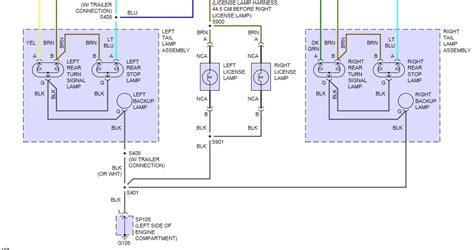 2005 chevy colorado light wiring harness wiring