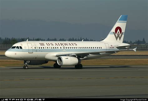 n828aw airbus a319 132 us airways america west airlines randall smith jetphotos