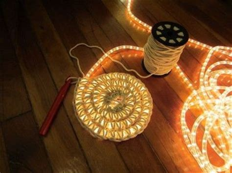 lighted crochet rug rope light rug quite frankly amazing crochet ideas and tips juxtapost