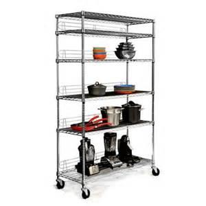 wire shelving with wheels tbfc 0907 ecostorage 6 tier wire shelving rack