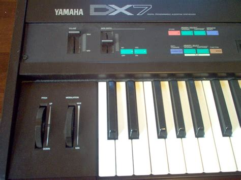 Keyboard Yamaha Dx7 yamaha dx7 junglekey fr image