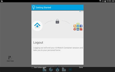 airwatch apk airwatch container apk android business apps