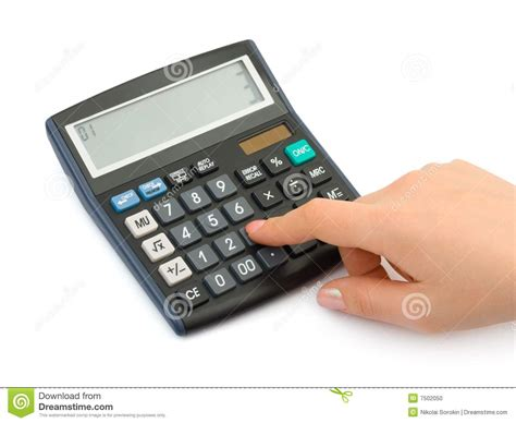 calculator x8 download hand and business calculator stock photo image 7502050