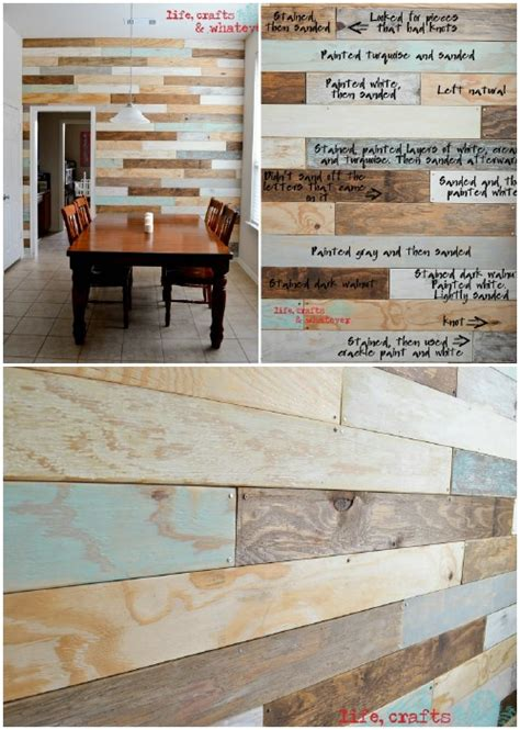 Redo Bathtub 15 Creatively Genius Diy Wood Walls Diy Amp Crafts