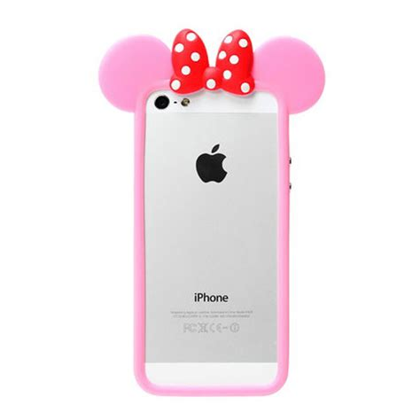 animal ear silicone bumper cover for apple iphone 4 4s 5 5s 6 4 7 ebay
