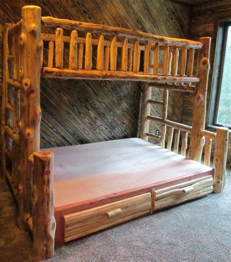 log cabin bed warm and inviting rustic log beds rustic log beds
