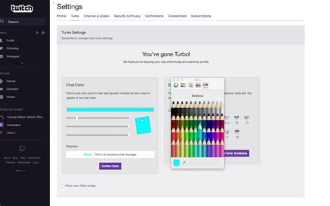 June Color by Twitch Turbo Color Chrome Web Store