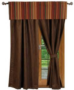 Southwestern Style Curtains Drapes And Valances In Southwestern Western And Cabin Lodge Designs