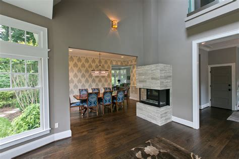 Rugs Home Decorators by Chevy Chase Residence Contemporary Dining Room Dc Metro