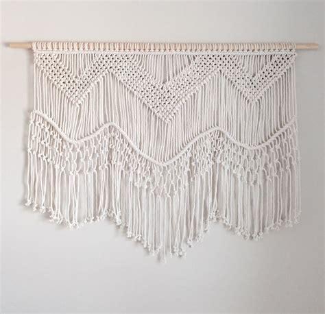 Macrame Patterns Wall Hanging - large macrame wall hanging macrame macrame wall