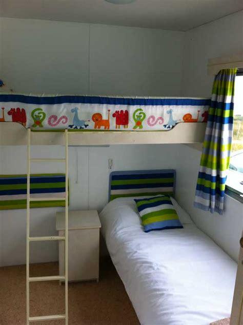 Caravan With Bunk Beds Broadford Self Catering Caravan Beannachd Heaste By Broadford Isle Of