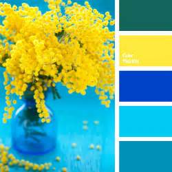Yellow Color Combination by Yellow And Greenish Blue Color Palette Ideas