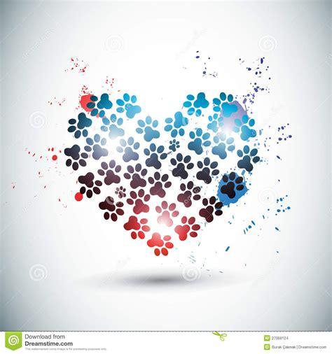 imagenes abstractas hd de amor patas brillantes abstractas del amor ilustraci 243 n del