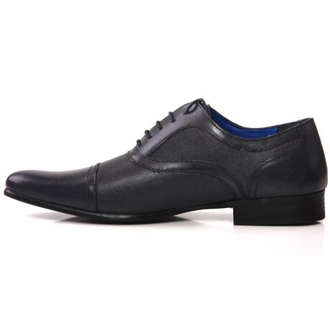 size 7 shoes unze mens potton leather dress shoes uk size 7 11 blue ebay