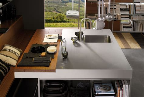 preparation kitchen modern italian kitchen design from arclinea