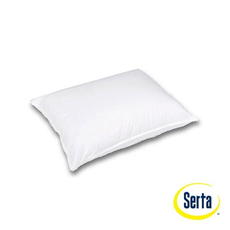 Serta Sleep To Go Pillow by Serta 174 Collection Sleeper Alternative Pillow Pillows