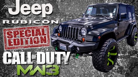 call of duty jeep modern warfare 2012 call of duty modern warfare 3 jeep wrangler rubicon