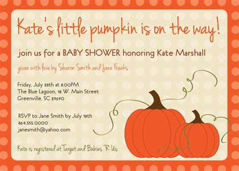 Fall Themed Baby Shower Invitations Template Resume Builder Themed Invitations Free Templates