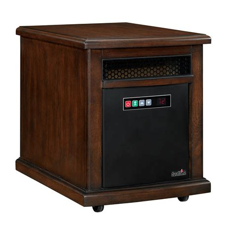 Lowes Heaters Electric Room shop duraflame quartz cabinet electric space heater at