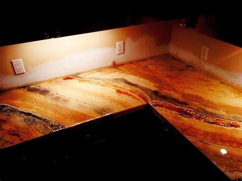 epoxy resin kitchen countertops cool ideas how to make epoxy countertops by ourselves
