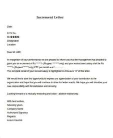Increment Request Letter Format Doc 24 Requisition Letter Sles