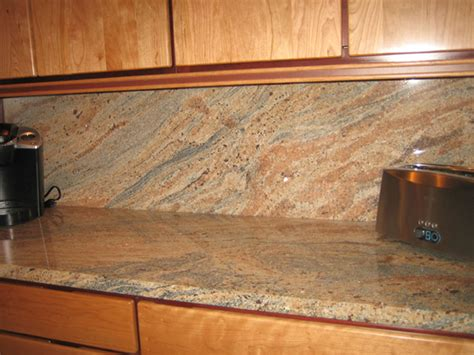 backsplash ideas for granite countertops fresh backsplash ideas for busy granite countertops 23103