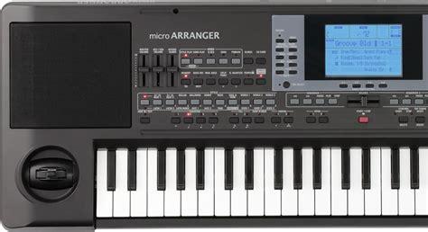 Keyboard Korg Micro Arrangger microarranger korg middle east