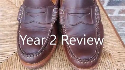 rancourt beefroll loafer rancourt co beefroll loafer shoe 2 year review
