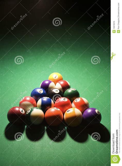 racked pool balls racked pool balls royalty free stock photo image 12676315