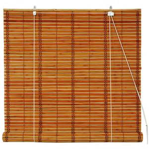 furniture burnt bamboo roll up blinds mahogany