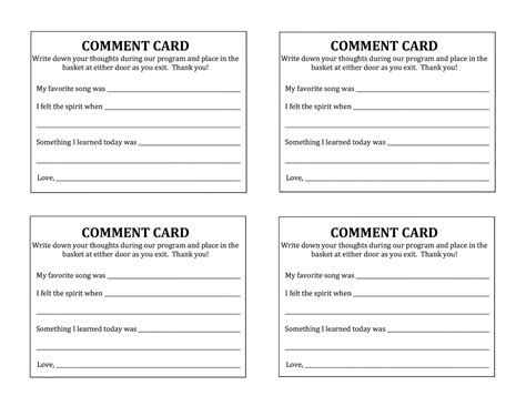 Employee Suggestion Card Template by Template Suggestion Form Template