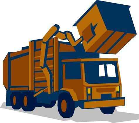 Garbage Truck Clipart garbage truck clipart cliparts co