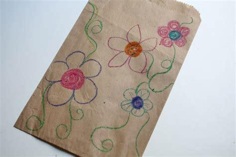 Decorating Brown Paper Bags For by Paper Bag Kite Factory Direct Craft