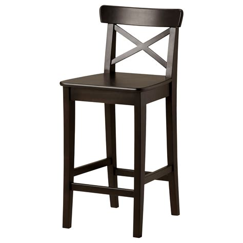 ikea wooden bar stool black ikea breakfast bar chair with back decofurnish