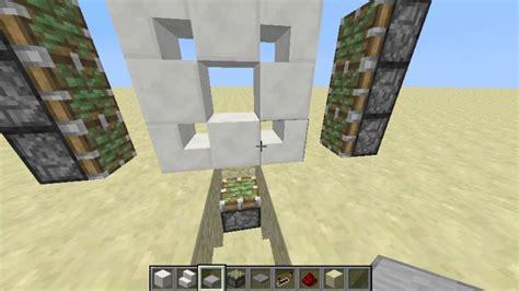 How To Make A 3x3 Piston Door by Etho 3x3 Piston Door Minecraft Tutorial
