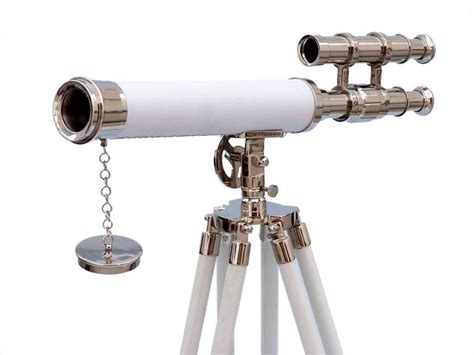 Telescope Floor L by Wholesale Floor Standing Chrome With White Leather
